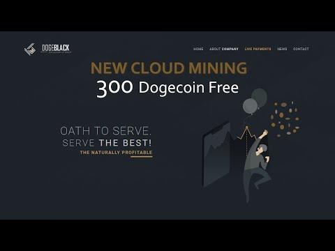 Dogeblack | Dogecoin cloud mining – Review