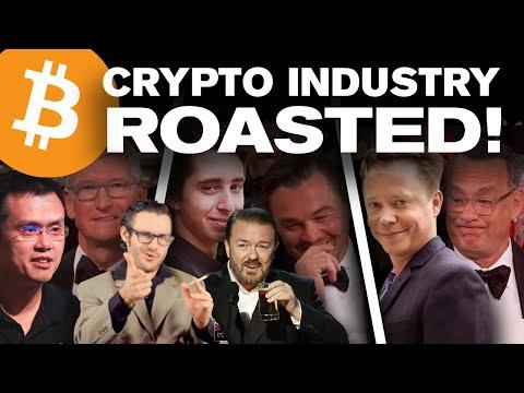 Chico Crypto's Ricky Gervais ROAST of the Crypto Industry