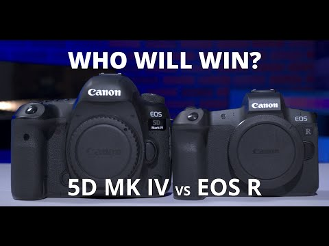 Canon 5D Mark IV vs EOS R – What camera is better?