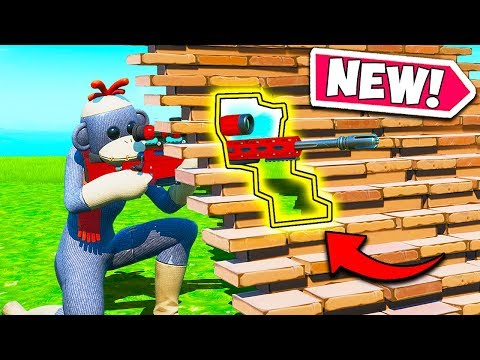 *NEW EDIT TRICK* SNIPE THROUGH RAMPS!! – Fortnite Funny Fails and WTF Moments! #797