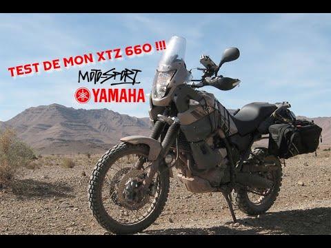 Test de mon Yamha 660 XTZ Ténéré de 2008 ?