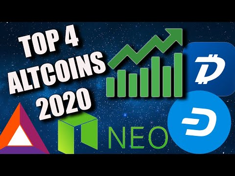 MOST BULLISH ALTCOINS FOR 2020 | WHY TO WATCH DGB, DASH, BAT, NEO