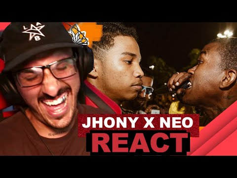 (FICOU TENSO) Jhony vs Neo – Batalha da Aldeia [React]