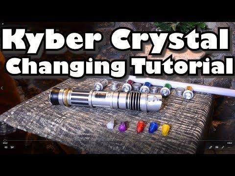 Kyber Crystal Change Savis Lightsaber Tutorial