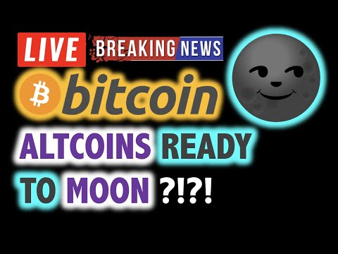 BITCOIN 💥 Are ALTCOINS Ready to MOON? 💥❗️ LIVE Crypto Analysis TA & BTC Cryptocurrency Price News