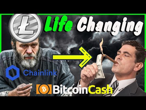 Can Litecoin, Bitcoin Cash, Chainlink Make you a MILLIONAIRE in one year? Bitcoin trading strategies