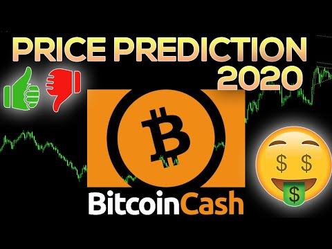 (BCH) Bitcoin Cash Price Prediction 2020 & Analysis