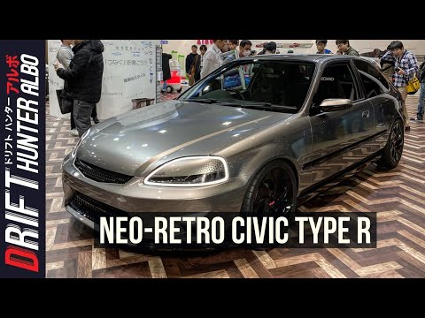 Honda's Civic Cyber Night Japan Cruiser 2020 is a Neo-Retro EK9 Type R