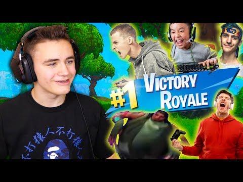 GAME DE OUF AVEC LES ABONNÉS !!! 😱- Fortnite Battle Royale – Néo The One