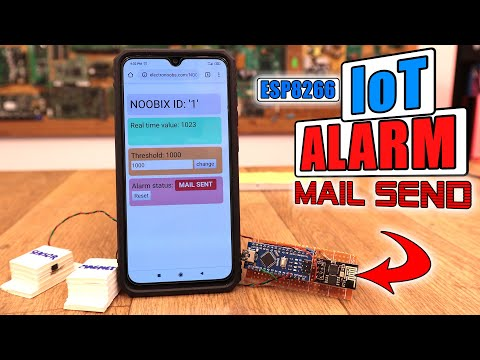 IoT#1 – Door Open Alarm + E-Mail | ESP8266