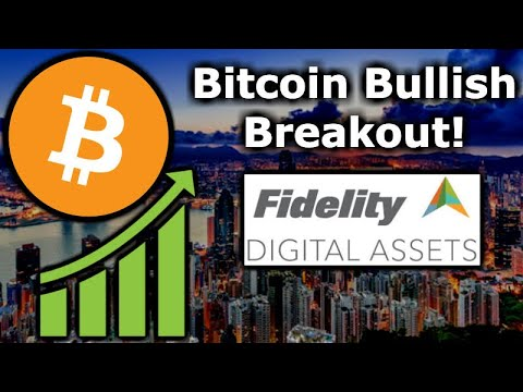 BITCOIN BULLISH BREAKOUT! Crypto Market Pumps – Fidelity Digital Assets Europe – Akon Crypto City