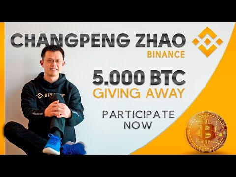 Binance СЕО: Announcе GivеAwaу 5000 Bitcoin BTC