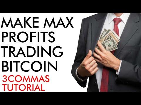 Make Max Profits Trading Bitcoin & Crypto – [ 3commas tutorial ]
