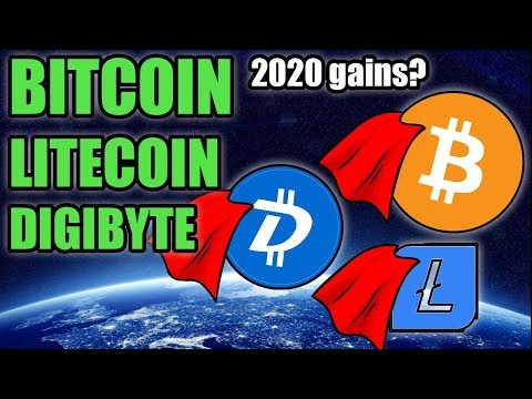 WOW! BITCOIN, LITECOIN, DIGIBYTE LOOK AMAZING ON THE CHARTS | BULL MARKET SOON?
