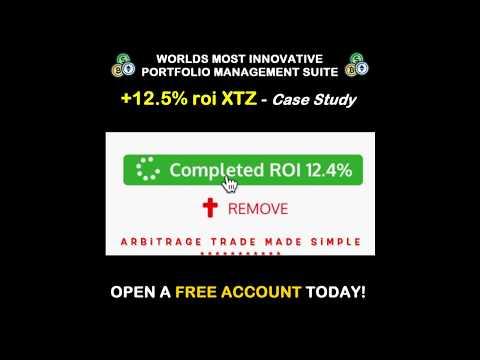 TEZOS Coin XTZ Arbitrage Trading case study