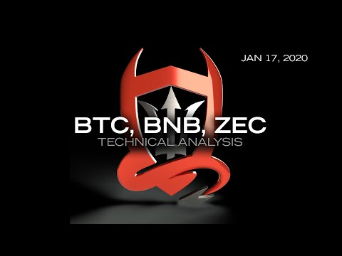 Bitcoin (plus) Technical Analysis (BTC, BNB, ZEC/USDT) : New format, new TradeDevils 2.0