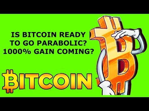 IS BITCOIN READY TO GO PARABOLIC? 1000% GAIN COMING?