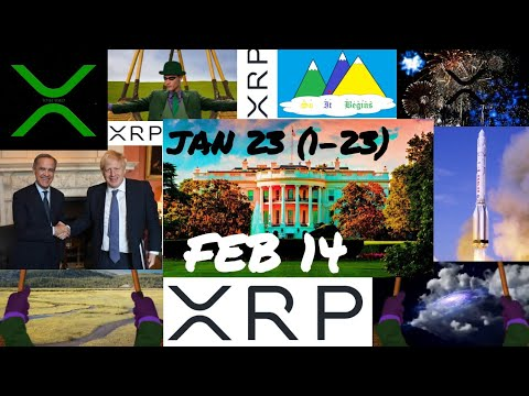 RIPPLE XRP- JAN 23, FEB 14 WILL CATAPULT XRP TO NEW HEIGHTS!!! RIPPLE RIDDLER, BG123 CLUES, QFS-XRP