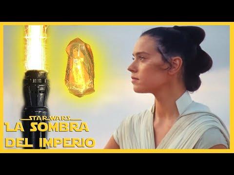 ¿De Dónde Sacó Rey el Cristal Kyber para su Sable de luz? #PreguntasDelDia El Ascenso de Skywalker