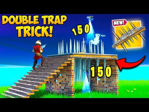 *EASY* DOUBLE TRAP TRICK IS UNFAIR!! – Fortnite Funny Fails and WTF Moments! #803