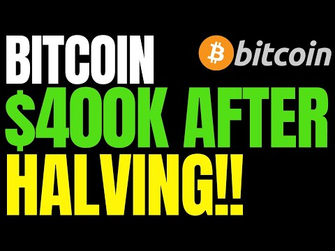 Bitcoin Will Reach $400K After Halving, History Dictates | BTC Price 4,000% Rally Signal Forms Again