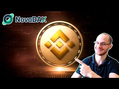🛑 NovaDAX lista Binance Coin na sua plataforma e dá BNB para novos usuários!