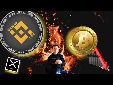 🔕BREAKING: Bitcoin CRASH and WHY. Binance Coin burns 39M + XRP and Stellar FIGHT IT OUT!