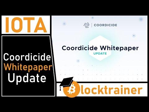 IOTA veröffentlicht Coordicide Whitepaper Update