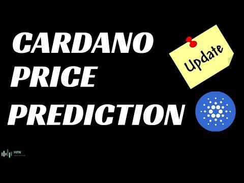 CARDANO (ADA) PRICE PREDICTION – UPDATE!!!