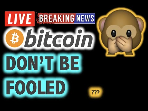 BITCOIN 💥Is This A FAKE BULL RALLY ??? 💥❗️LIVE Crypto Analysis TA & BTC Cryptocurrency Price News