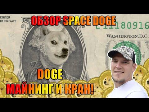 🐶 Spacedoge – майнинг $1000 в месяц, бесплатные раздачи DOGE!