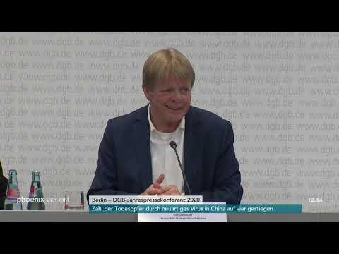 Reden von Reiner Hoffmann und Elke Hannack bei der DGB-Jahresauftaktpressekonferenz am 21.01.20