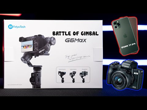 Thử tài iPhone 11 Pro vs Canon EOS M50  (với Feiyu G6 Max)