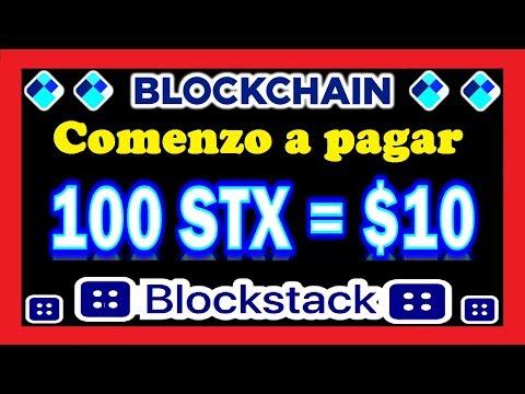 *INCREÍBLE* Airdrop Blockchain EMPEZO A PAGAR los 10$ Dolares en BLOCKSTACK STX