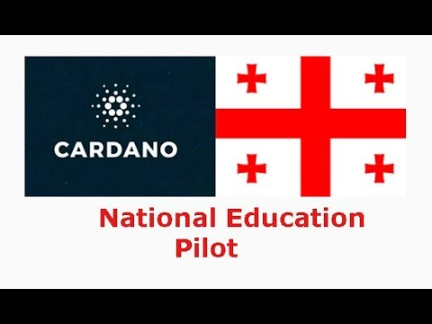 Cardano(ADA) to be used in Georgia National Education Pilot