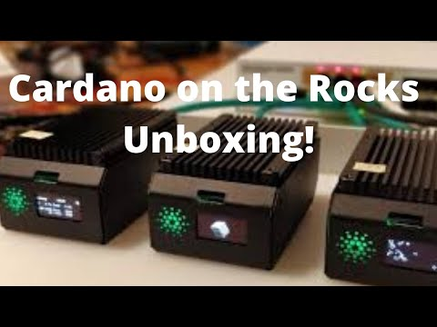 Cardano on the Rocks Stake Pool Kit Unboxing!