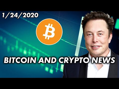 Elon Musk Opens Up About Bitcoin | Cryptocurrency News 1/24/2020