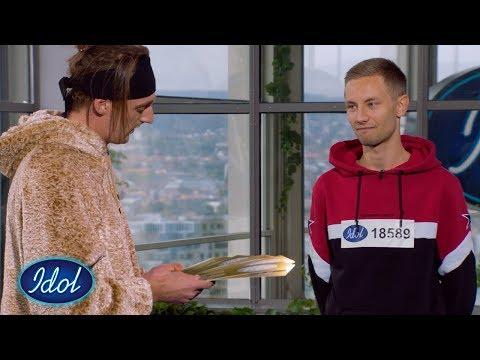"TIX gjør ""countrystemmen"" Steffen ekstremt nervøs – du er helt gal! | Idol Norge 2020"