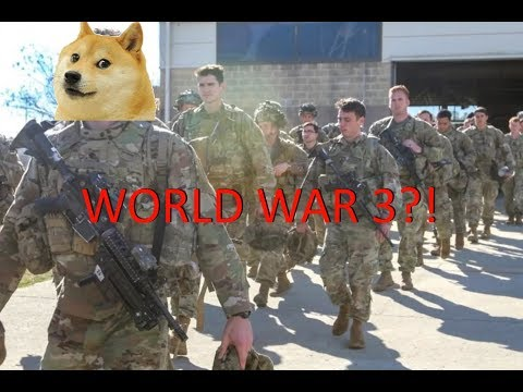 Doge gets drafted in WWIII   Roblox Animation