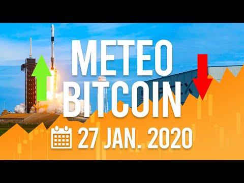 La Météo Bitcoin FR – 27 janvier 2020 – Analyse Crypto Fanta
