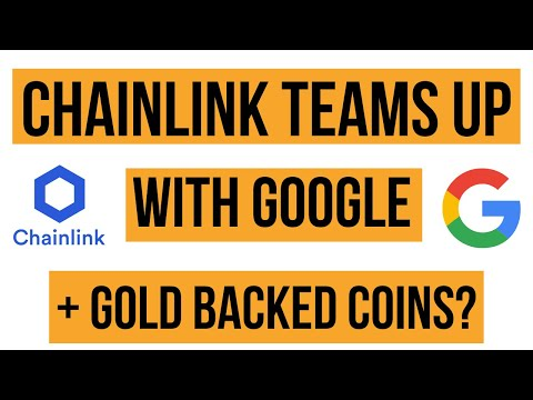 Chainlink (LINK) Partners With Google & GOLD BACKED COINS | Bitcoin & Crypto News Today