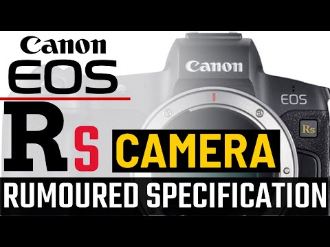 Canon EOS RS Camera Rumored Specifications