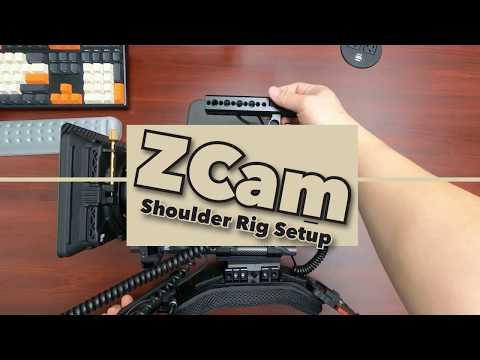 How to unbuild(build) low profile shoulder rig (feat. ZCam E2c)