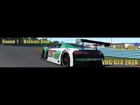 VRC GT3 2020 – Round 1 – Watkins Glen