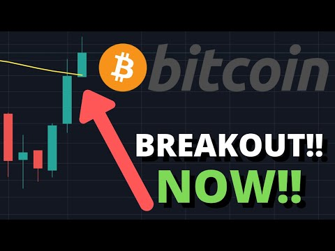 OMG BITCOIN PRICE BREAKING OUT!!! | BTC PRICE TO $10,000 NEXT?