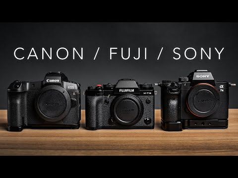 SONY A7iii compared to the CANON EOS R + FUJI XT3