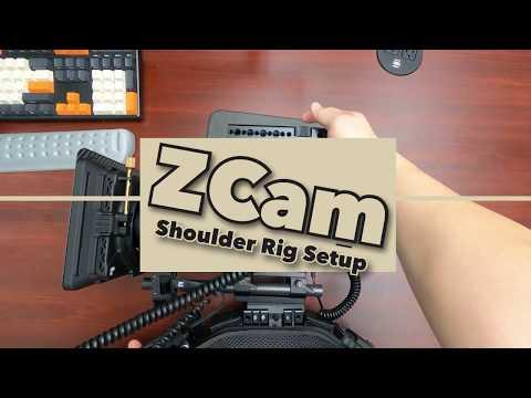 How to unbuild (build) low profile unique shoulder rig (feat. ZCam E2c)