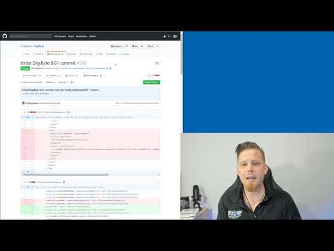 DigiByte Update – #157 – Work on Core 8.19, Poloniex delisting and DigiByte Go update