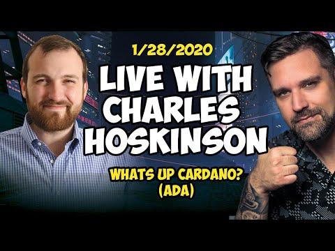 Live with Cardano's Charles Hoskinson (ADA)
