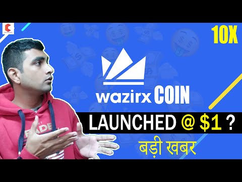 WAZIRX, WRX coin Launched on BINANCE at $1 ? – CRYPTOVEL